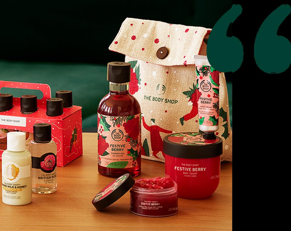 Weihnachtsgeschenke von The Body Shop